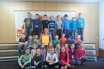 Děti novopacké školní družiny při ZŠ Husitská.