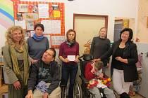 Sbírka pro stacionář Klokan vynesla sedm tisíc korun.