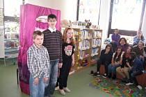 Vyhodnocení soutěže dětských čtenářů v jičínské knihovně.
