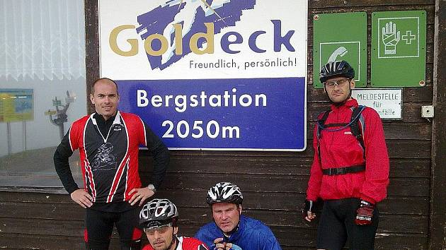 Alpine Tour 2010 miletínských cyklistů, klubu Prasklej řetěz.