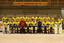 Tým novopackých hokejistů.