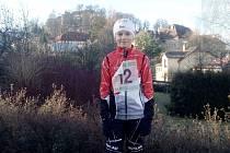 Eliška Peterková, jedna z účastnic závodu,