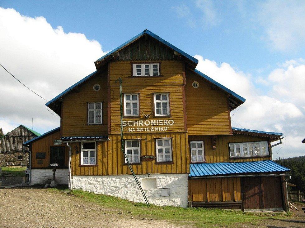 Polská chata Schronisko pod Sniežnikom.
