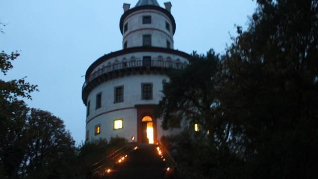 Ze zámku Humprecht.
