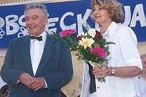 Josef Zíma a Yvetta Simonová.