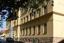 Pavilon operačních oborů v jičínské nemocnici.