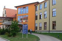 Areál Oblastní nemocnice Jičín.