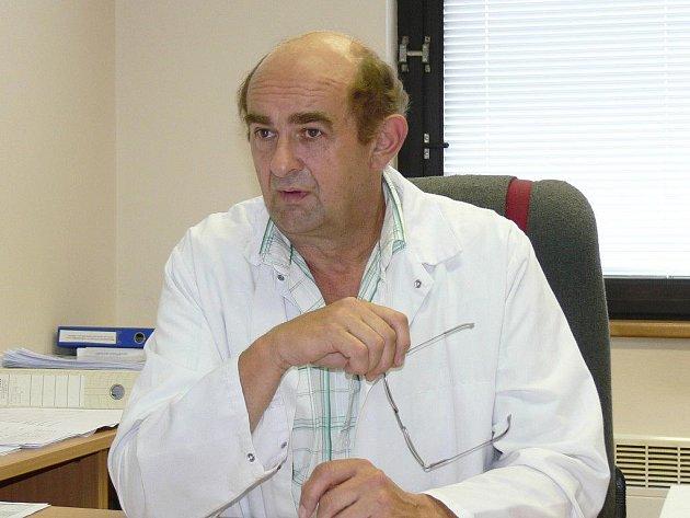Ředitel jičínského masokombinátu Ladislav Adam.