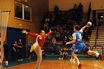 Čtvrtfinále Českého poháru házenkářů: HBC Ronal Jičín - HC Baník Karviná.