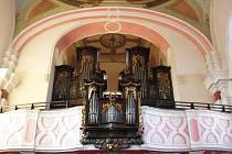 Varhany v ostruženském kostele potřebují opravu.