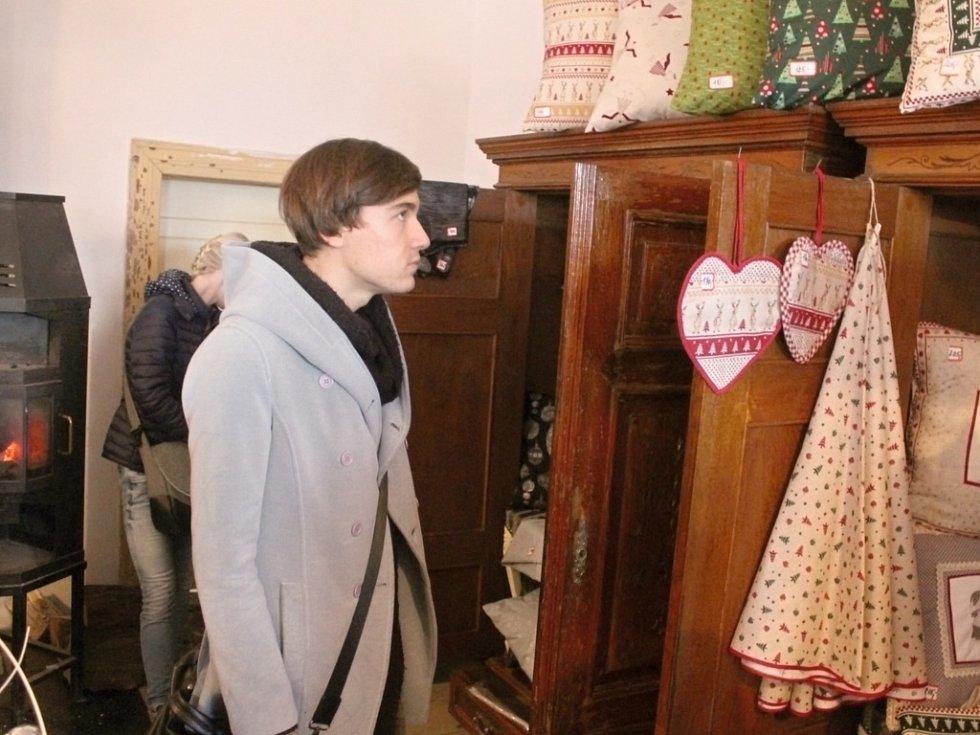 Vánoční výstava v Soběrazi.