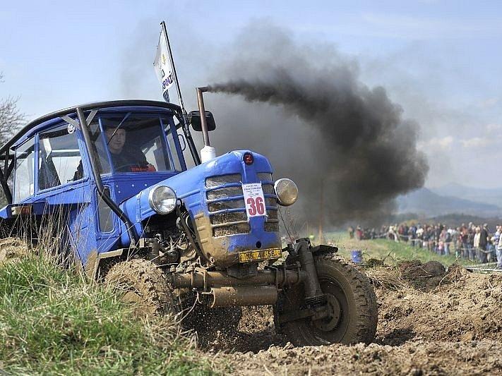 Vyskeřská traktoriáda.