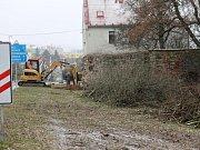 Zahájení prací na výstavbě kanalizace v Sedličkách.