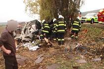 Vážná dopravní nehoda u Vojic.