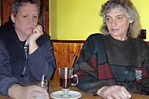 Pavel Sadlik a Petr Čejka.