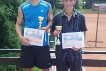 Finalisté dvouhry Michal Slavík a Jan Šmidrkal.