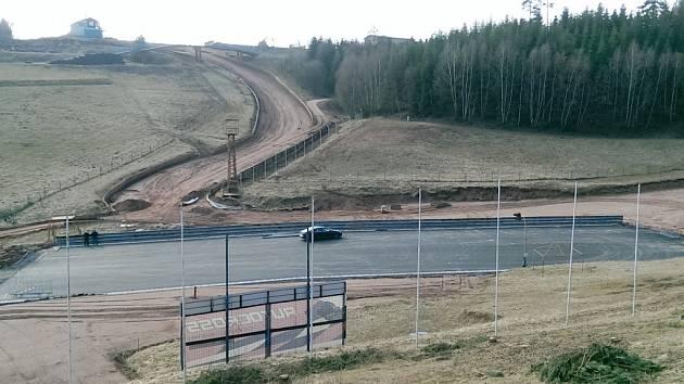 Závodiště ve Štikovské rokli.