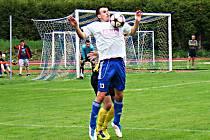 JAKUB URBANEC vstřelil gól Trutnovu  a na Admiře asistoval u všech čtyřech novopackých branek.