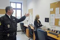 Z nové služebny Městské policie Jičín.