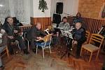 Z koncertu kapely Srazilka na Samšině.