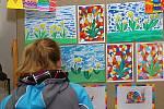 Děti kreslily, jak si představují ochranu přírody.