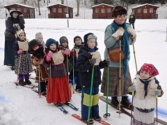 Mistrovství Pecky v běhu na historických lyžích