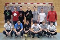 STUDENTI LEPAŘOVA GYMNÁZIA měli z konečného druhého místa v soutěži pořádané Asociací školních sportovních klubů České republiky velkou radost.