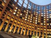 Exkurze do budovy Evropského parlamentu ve Štrasburku.