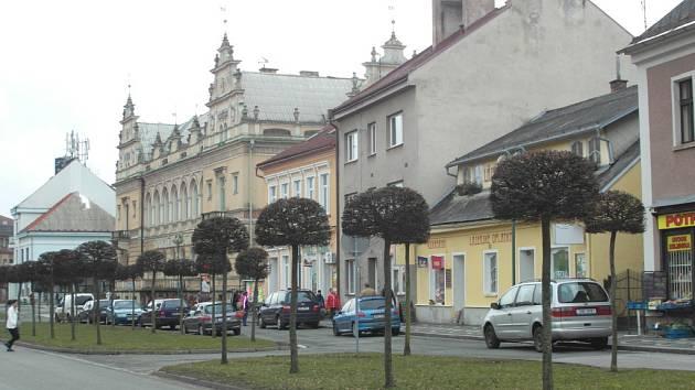 Bělohradské náměstí.