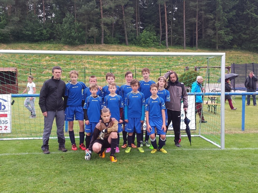 Vítěz prvního ročníku mezinárodního turnaje v Hořicích, mužstvo mladších žáků Jičína.
