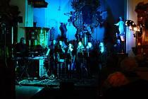 Koncert v mlázovickém kostele.