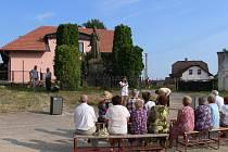 Vzpomínka na výročí upálení mistra Jana Husa v Popovicích v roce 2010.