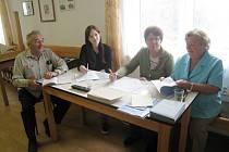 Volební komise ve Zboží.