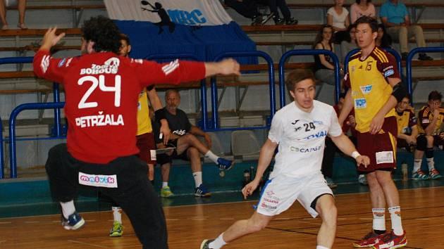 Extraliga házenkářů - o 5. místo: HBC Ronal Jičín - HC Dukla Praha.