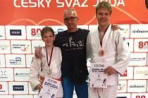 ÚSPĚŠNÍ medailisté. Vlevo Z. Venclů, uprostřed M. Letošník a vpravo T. Kulhánek.