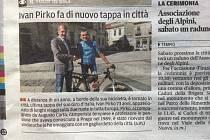 Z cest Ivana Pírka po Itálii.