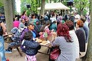 První romský festival