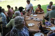V obci Cidlina slavili poslední červencový víkend Vánoce.
