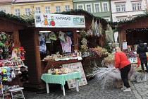 Adventní trhy v Jičíně.