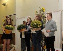 Ocenění vítězů Kopidlenského kvítku.