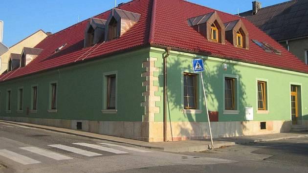 Víceúčelový dům v Miletíně po rekonstrukci.