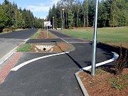 Pecka, nová stezka pro cyklisty a pěší za osm milionů.