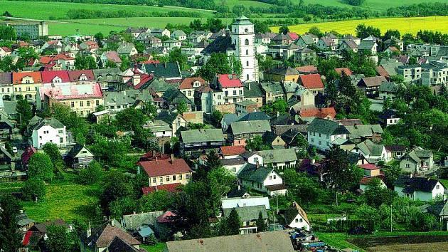Městečko Sobotka.