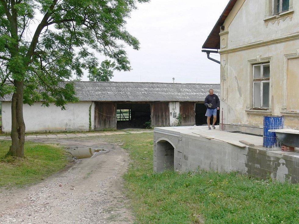 Rekonstrukce v Bukvici z dotací Programu rozvoje venkova.