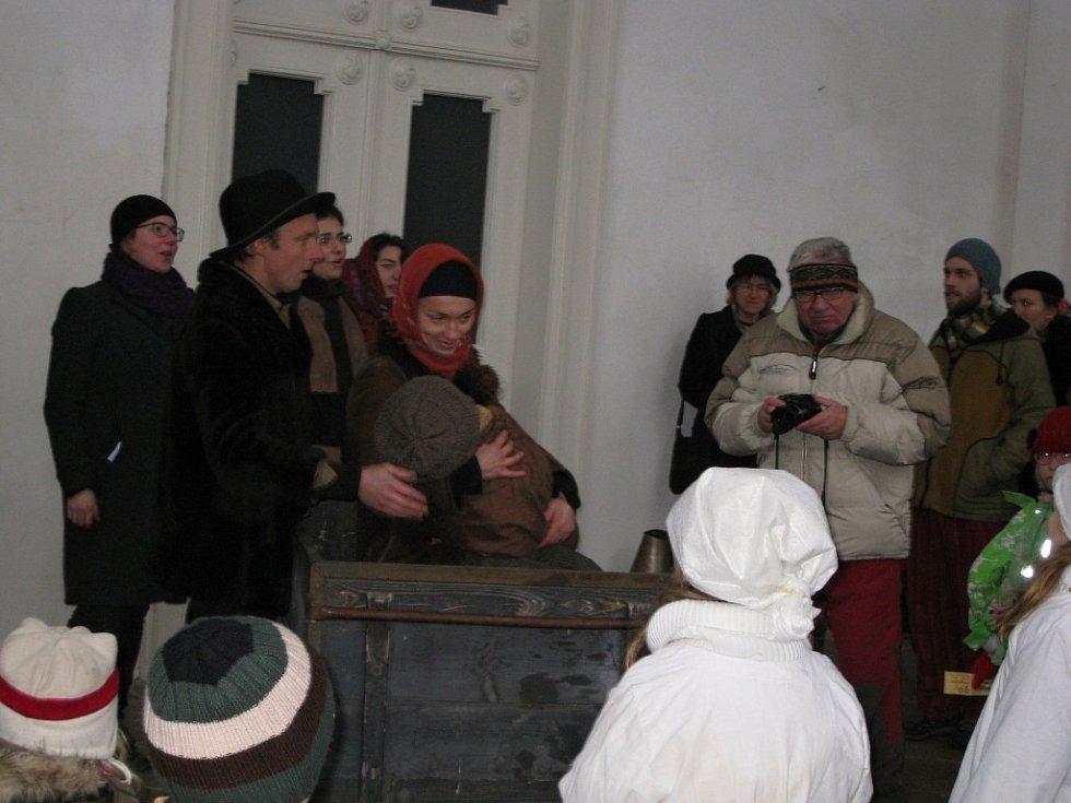 Divovánoce ve Valdštejnské lodžii.