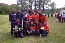 Z činnosti rohoznických dobrovolných hasičů.