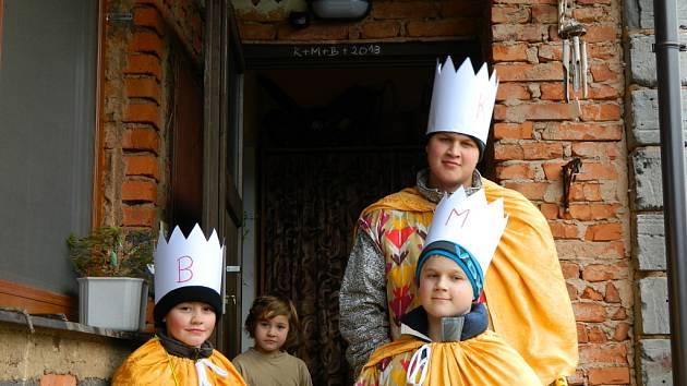 Tři králové ve Zboží.