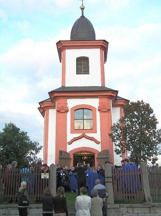 Bukvická kaple sv. Jana Nepomuckého.