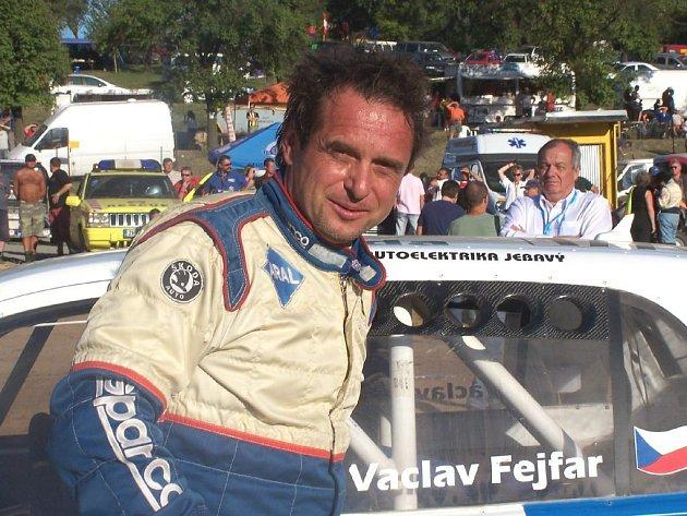 Václav Fejfar v Přerově.