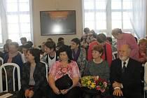 Ze závěrečného semináře studentů - seniorů.